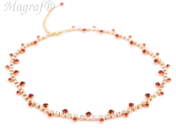 Strass Necklace - 03826