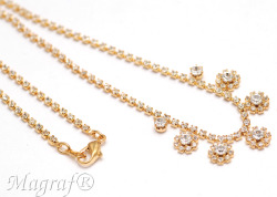 Strass Necklace - 03945