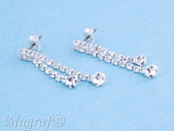 Strass Earrings - 05107