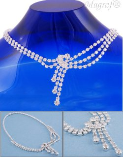 Strass Necklace - 06073