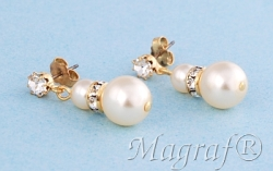 Pearl Earrings - 06678