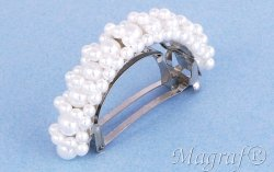 Wedding Hair Pin or Slide - 08660