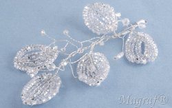 Wedding Hair Pin or Slide - 13130