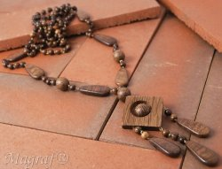 Wooden Necklace - 13522