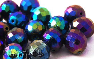 Fire Polished Beads - 14086