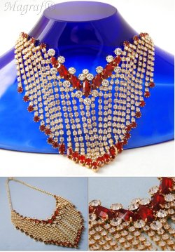 Strass Necklace - 14146