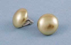 Pearl Clip on Earrings - 16418