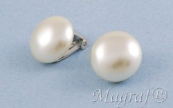 Pearl Clip on Earrings - 16672