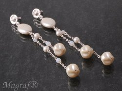 Pearl Earrings - 16818