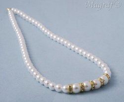 Pearl Necklace - 17377