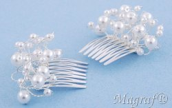 Wedding Hair Pin or Slide - 17761