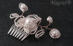 Wedding Hair Pin or Slide - 17820