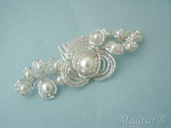 Wedding Hair Pin or Slide - 20047