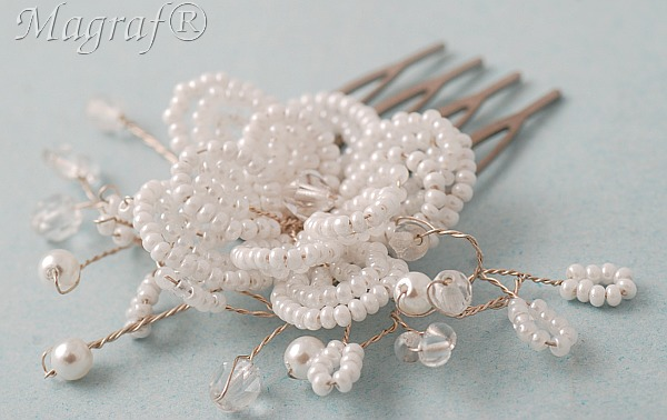 Wedding Hair Pin or Slide - 21862
