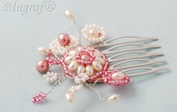Wedding Hair Pin or Slide - 21885