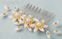 Wedding Hair Pin or Slide - 21891